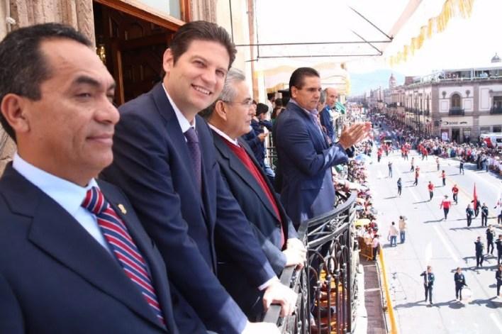 Cabe recordar, que en el ánimo de que esta tradicional parada cívica-militar se llevara a cabo en un marco de tranquilidad y orden, la Policía Municipal de Morelia estrechó lazos de coordinación con  sus homólogos estatales, logrando que esta culminara sin contratiempos