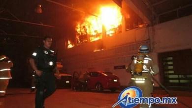 Al lugar acudieron bomberos voluntarios y bomberos profesionales, así como otras corporaciones de emergencia, que en total reunieron 5 máquinas de bomberos, 45 bomberos, 5 ambulancias y 6 patrullas