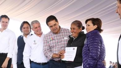 Silvano Aureoles señaló que los tres órdenes de Gobierno trabajaron de manera coordinada para hacer posible que las familias recibieran el apoyo en sus escrituras y mejoramiento de viviendas