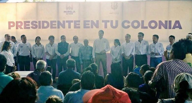 Por tanto el día de hoy a partir del mediodía, el programa estará presente con funcionarios incluidos en la cancha de basquetbol que se ubica en la calle Correyuela de la colonia Francisco Javier Clavijero