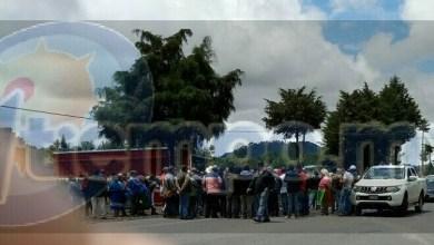 El bloqueo carretero y la manifestación de transportistas fueron monitoreados por parte de la Policía Michoacán