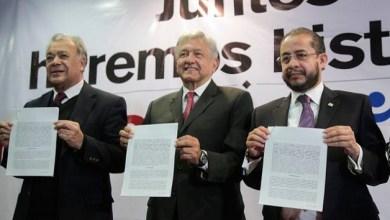 Esta mañana Hugo Eric Flores, presidente del PES, confirmó que su partido se sumará a esta coalición con Morena y el PT. En entrevista con Ciro Gómez Leyva para Radio Fórmula, señaló que la coalición será parcial.