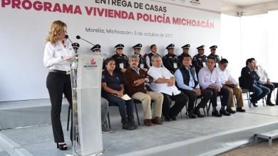 La directora general del IVEM, Yesmín Sánchez Huerta, recordó que quienes integran los cuerpos de seguridad carecían de un programa para adquirir vivienda