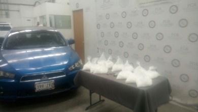 El arma, el vehículo y la droga quedaron a disposición del Agente del Ministerio Público de la Federación en Morelia, Michoacán