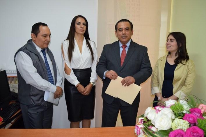 Laura Elizabeth Sosa Zaragoza, asumió funciones como coordinadora de Estudios, Divulgación y Capacitación, en su lugar fue nombrada subcoordinadora de Equidad entre Mujeres y Hombres, Alma Monserrat Guerrero Méndez