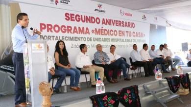 Encabeza el gobernador Silvano Aureoles el segundo aniversario del programa Médico en tu Casa.