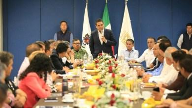 Aureoles Conejo dijo estar convencido de que el trabajo compartido con la sociedad permitirá resolver retos de seguridad