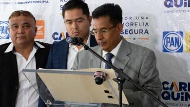"""""""Son los síntomas, signos y evidencias de un proyecto fallido, de una campaña que tiende a perder gas, una campaña que está desinflándose y se le empieza a desgranar la mazorca al candidato independiente"""": Miguel Ángel Chávez"""