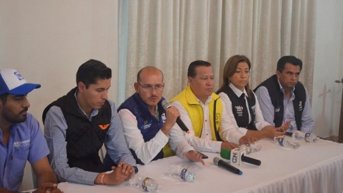 Hinojosa Pérez señaló que en el PAN no se tiene registro de que Alejandro Chávez haya solicitado seguridad especial, no obstante indicó que dos candidatos ya pidieron un acompañamiento especial debido a las amenazas de las que han sido objeto