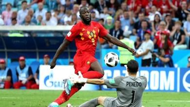 El primer tiempo Bélgica fue amplio dominador, pues no sólo tuvo la posesión del balón sino también fue el que más oportunidades de gol creó