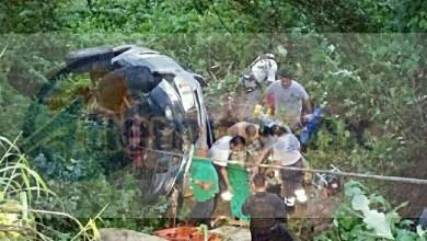 Tras la difícil maniobra de rescate fue trasladado el trabajador a urgencias del IMSS para brindar la atención médica