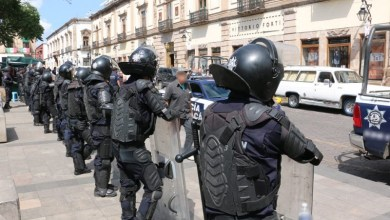 En la intervención policial participó la Unidad de Restablecimiento del Orden Público y Sectores, garantizando con esta acción el Estado de Derecho