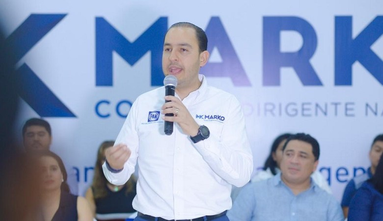 El PAN será la voz que señale errores y presente alternativas, para que no se sigan tomando malas decisiones: Marko Cortés