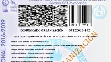 Alistan mega paro estatal y manifestación sindicatos educativos de Fesemss, CNTE, Frente Cívico y Fasem este martes
