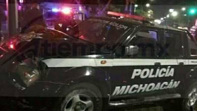 El accidente ocurrió minutos antes de las 02:00 horas cuando la unidad circulaba sobre el Boulevard Lázaro Cárdenas