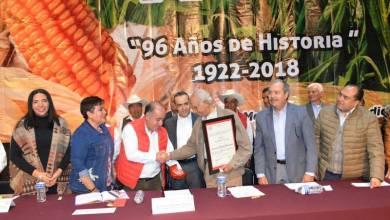 Lo anterior en el marco del festejo del 96 aniversario de la fundación de la Liga Campesina, Agraria y Sindicatos de Campesinos