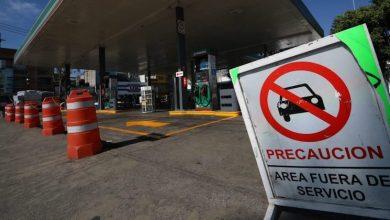 Por lo pronto, las filas en las estaciones de servicio aún son largas en distintas zonas de la entidad, cuando les llegan las pipas con combustible