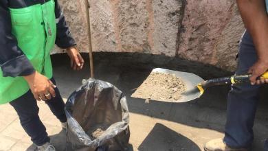 Las Direcciones de Residuos Sólidos, Parques y Jardines, Alumbrado Público, logrando hasta el momento un total de 7 toneladas de residuos recolectados