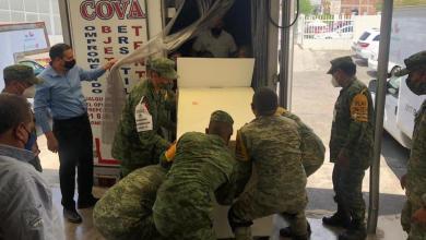 Ejército, vacunas, COVID-19