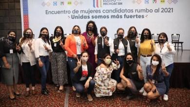 Equipo por Michoacán, mujeres
