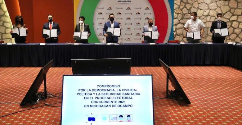 acuerdo electoral, Michoacán