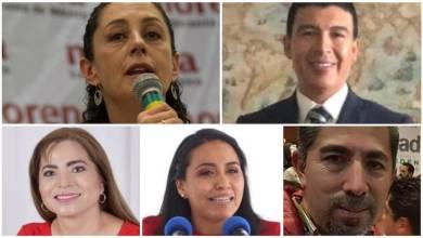Los suspirantes, Claudia Sheinbaum, Zitácuaro