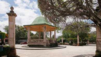 Plaza Principal, kiosko, Santa María de Guido