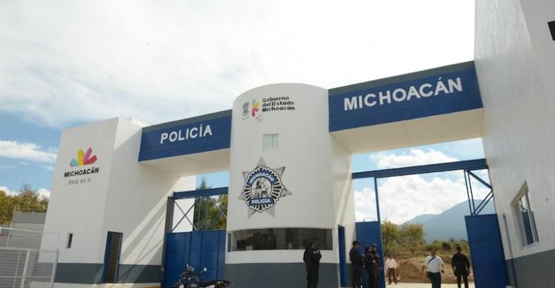 cuartel, Policía Michoacán