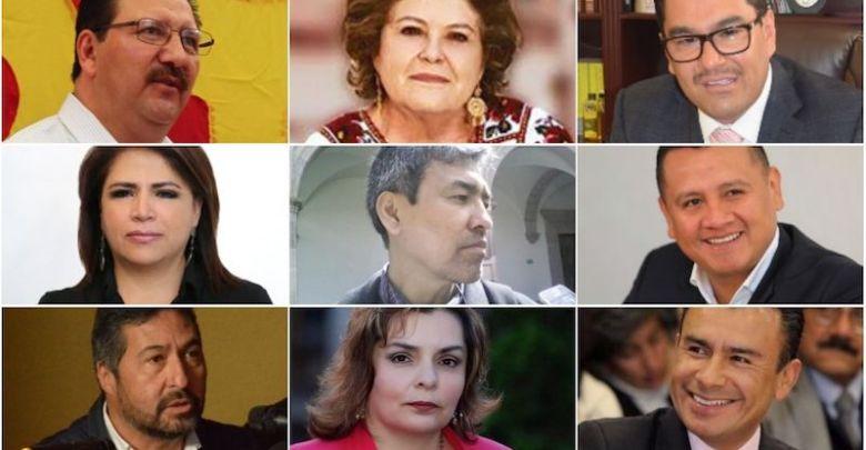 Los suspirantes, Morena, PT