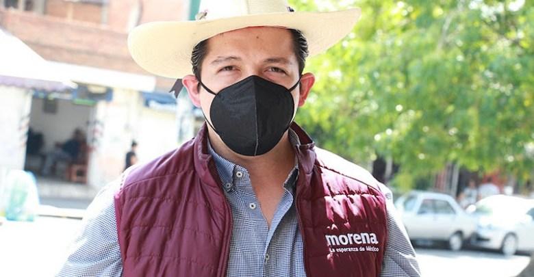 Misael García Vázquez, Morena