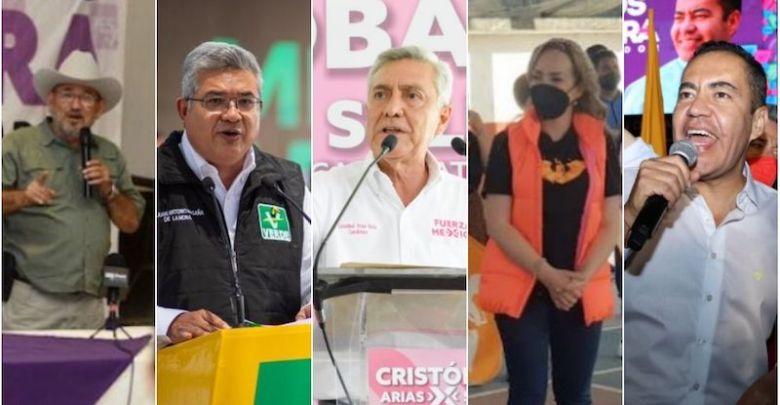 Los suspirantes, arranques de campaña, Michoacán
