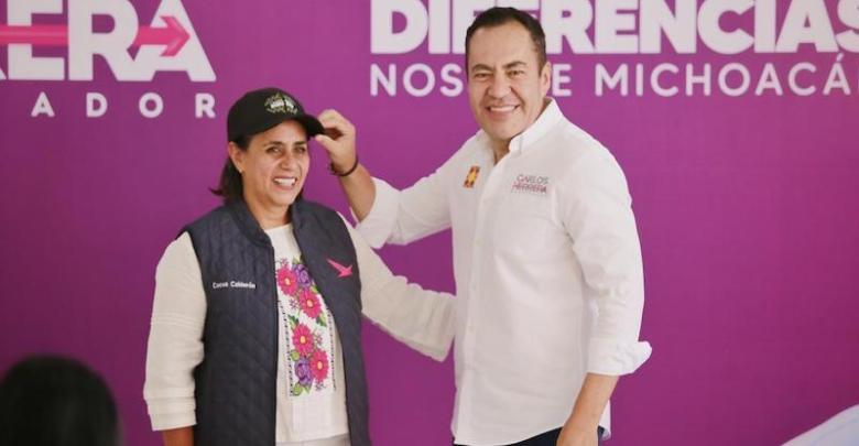 Luisa María Calderón, Cocoa, Carlos Herrera