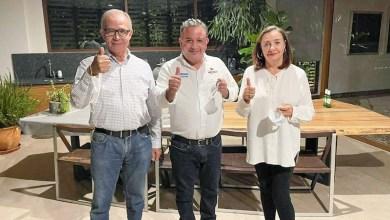 Chavo López, Carlos Quintana, Laura Suárez