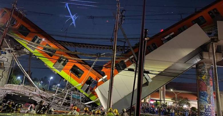 Línea 12 del Metro, desplome