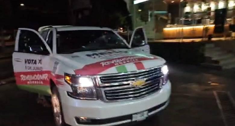 atentado, camioneta, Memo Valencia