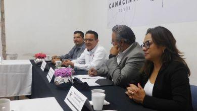 Miguel Ángel García Meza, CANACINTRA