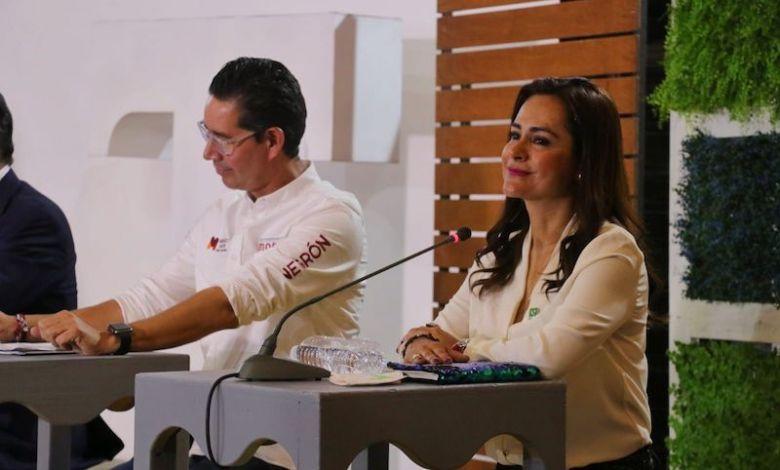 Marx Aguirre, debate