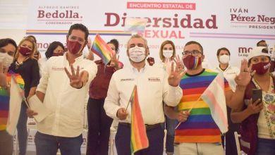 Iván Pérez Negrón, Alfredo Ramírez Bedolla, comunidad homosexual