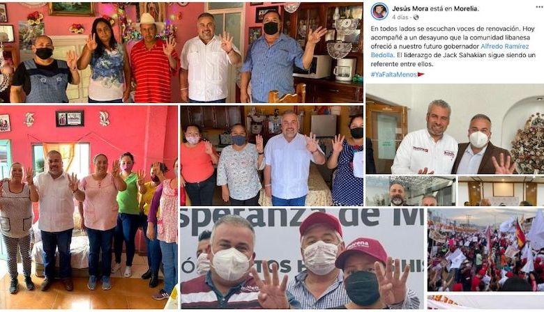 Jesús Mora, delitos electorales