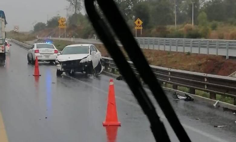 accidente, Autopista Siglo XXI
