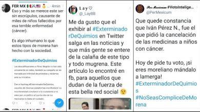 Twitter, #ExterminadorDeQuimios