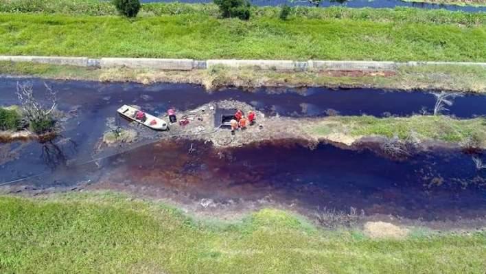 fuga de petróleo, fuga de crudo