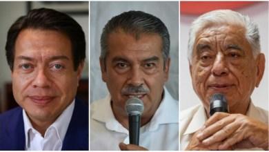 Mario Delgado, Raúl Morón, José Apolonio Albavera