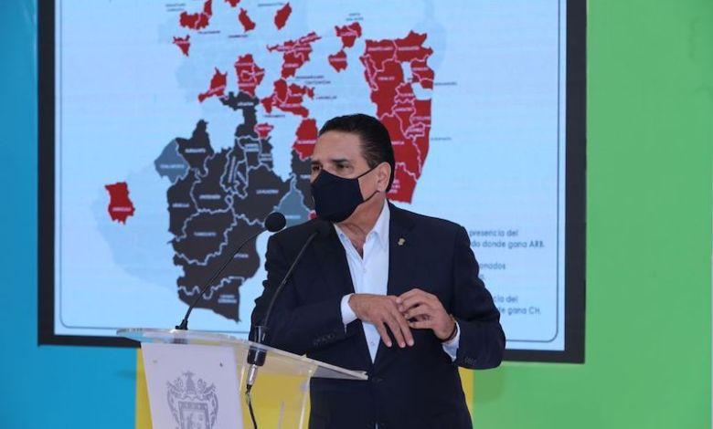 Silvano Aureoles Conejo, contra narcogobiernos