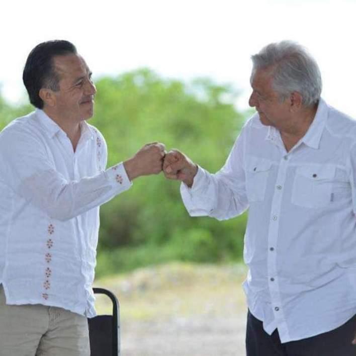 Cuitláhuac García Jiménez, Andrés Manuel López Obrador
