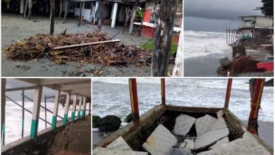 afectaciones, huracán Enrique, Lázaro Cárdenas, costa michoacana