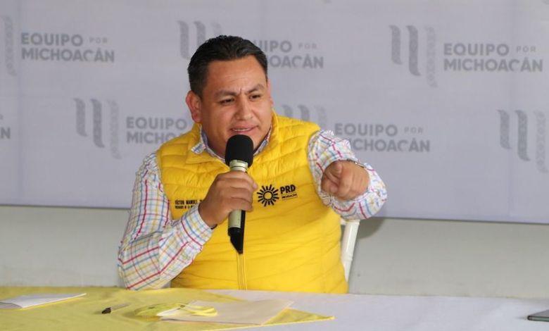 Víctor Manuel Manríquez, PRD