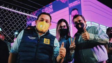 Víctor Manríquez, Brissa Arroyo, Víctor Lenin Sánchez