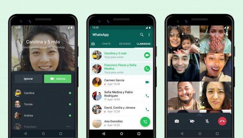 Whatsapp, videollamada