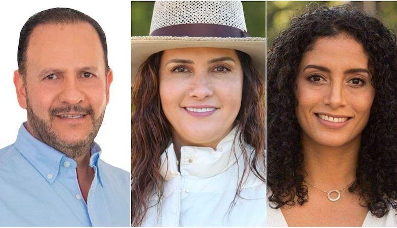 Los suspirantes, Mauricio Prieto, Macarena Chávez, Edna Díaz